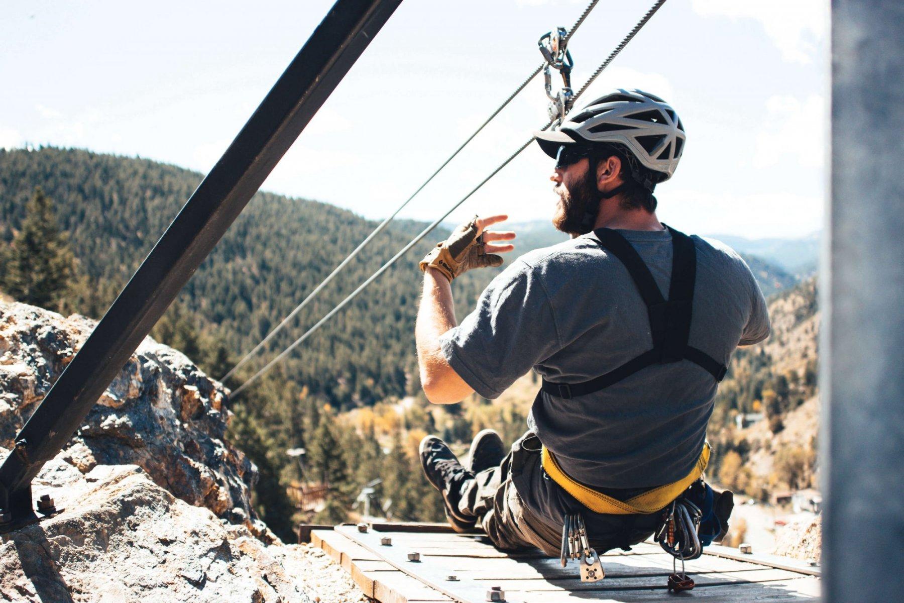 Colroado Zipline Idaho Springs