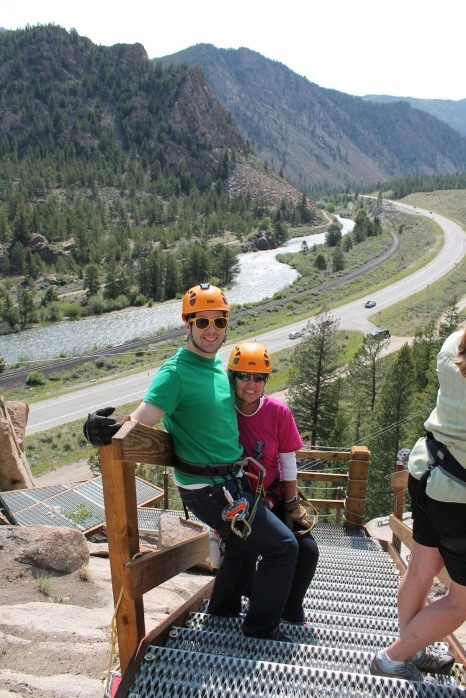 Ziplining Colorado