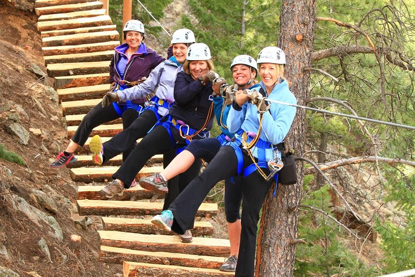 Group Zipline Colorado