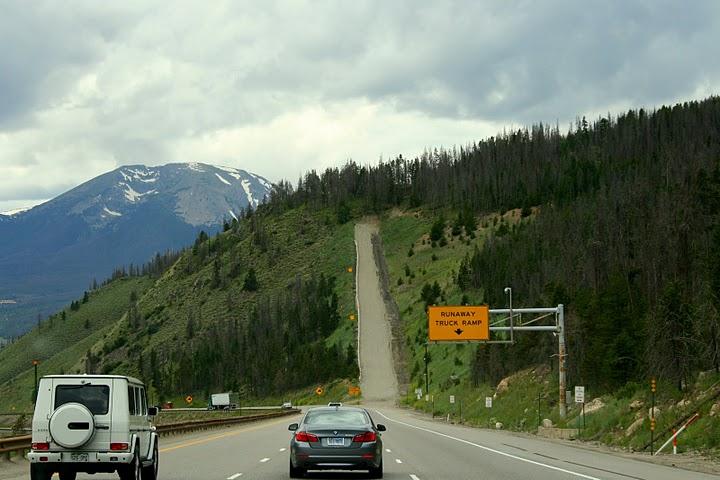 Colorado I-70 Traffic