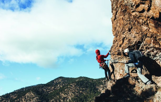 Colorado Via Ferrata Step By Step